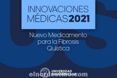 Universidad Sudamericana presenta medicamento para tratar la Fibrosis Quística, afección que obstruye las vías respiratorias