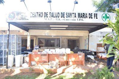 Yacyretá equipó completamente el Centro de Salud de Santa María, Misiones.