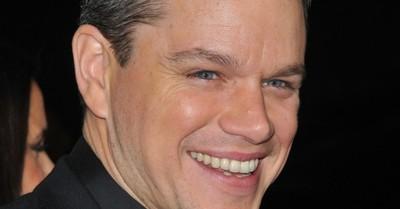 """Matt Damon y su experiencia en un partido de Boca Juniors: """"Una locura total"""""""