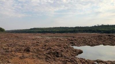 MOPC establece acciones urgentes ante histórica bajante del río Paraná (Video)