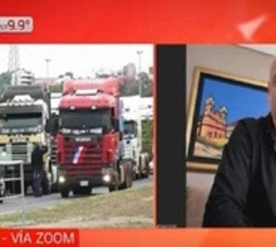"""APESA critica que camioneros buscan """"sitiar el país"""""""