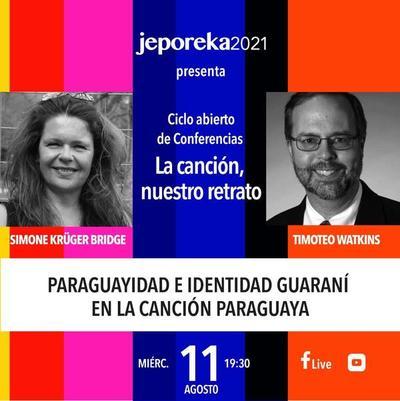 Ciclo de conferencias virtuales sobre la música paraguaya desde hoy – Prensa 5