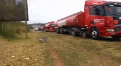Bloqueo de rutas deja sin combustible al interior del país
