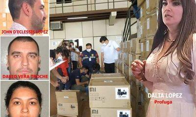 Los rostros de los principales testaferros de la organización mafiosa de Dalia López – Diario TNPRESS