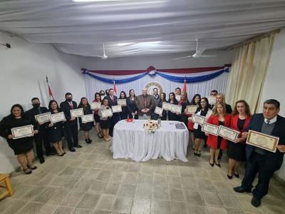 EDUPCA entrega títulos a egresados de la carrera de Derecho – Prensa 5