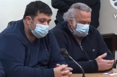 González Daher y su hijo son condenados a siete y ocho años de prisión