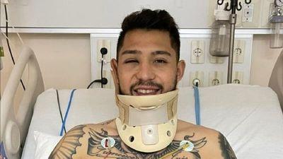 El mensaje de Víctor Salazar tras su grave lesión