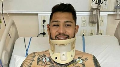 Salazar tendrá un mes y medio de recuperación