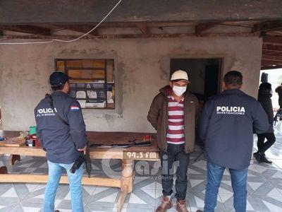 Recapturan a exconvicto que lideró intento de fuga masiva de la cárcel de Pedro Juan