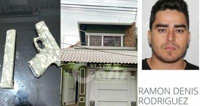Policía allanó lujosa vivienda en Pedro Juan en busca autor de intento de homicidio