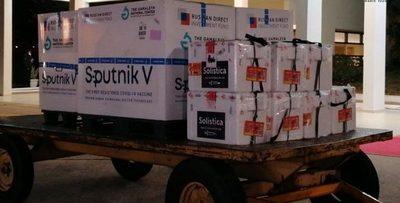 Llegan las ansiadas vacunas Sputnik V para segundas dosis