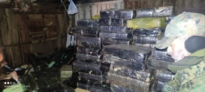 Senad incauta más de 6 mil kilos de marihuana prensada