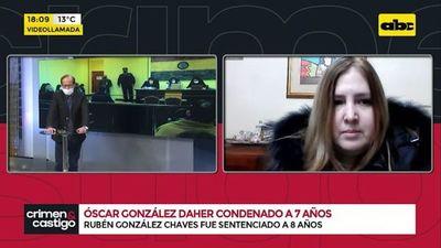 Óscar González Daher condenado a 7 años