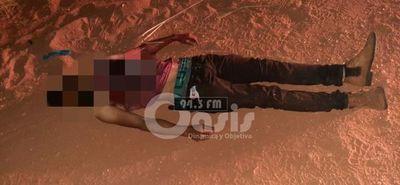 Hallan cadáver de un hombre asesinado en zona Pedro Juan