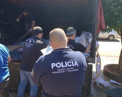 Requisan gran cantidad de kits de bioseguridad que ingresaron de contrabando desde el Brasil