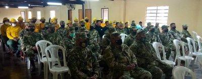 SEN realiza capacitación para combatir incendios forestales en Concepción