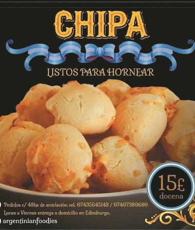 Venden chipa en Londres como si fuera de Argentina