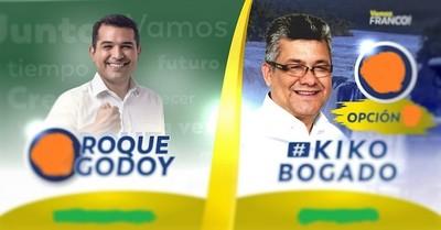 Roque Godoy COMPRO lubricantes de candidato a concejal de su partido