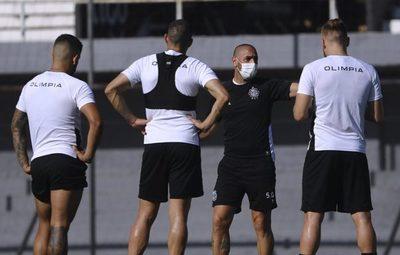 El probable equipo que perfila Olimpia para medir a Cerro Porteño