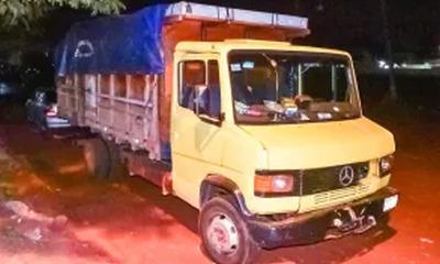 Asaltan camión de mercaderías y se llevan millones en Caaguazú