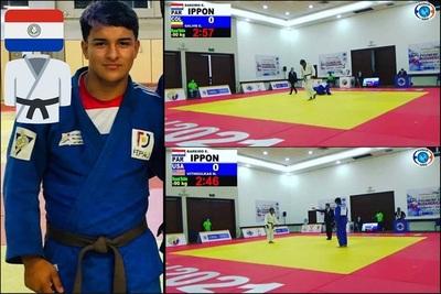 ¡Histórico! Ezequiel Bareiro es bicampeón panamericano de judo