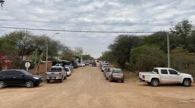 Resaltan alta concurrencia de personas en vacunatorios habilitados en Boquerón