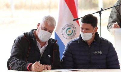 El MOPC firma contratos e inicia oficialmente las obras de la Ruta de la Leche