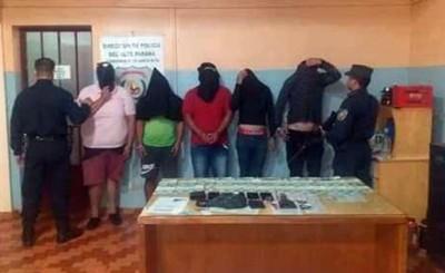 Piden juicio oral para cinco presuntos traficantes de drogas