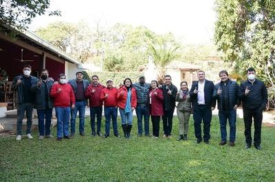 Otra reunión departamental de la ANR en Misiones