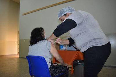 Más de 2.500 personas recibieron su segunda dosis anticovid en Amambay