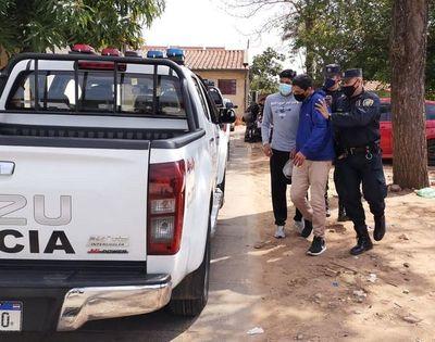 Delincuente puso en vilo a Ñemby, al tomar rehenes, en su intento de escapar de la Policía