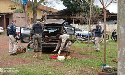 Detienen a hombre que transportaba en su vehículo dinamitas en gel, en Pdte. Franco – Diario TNPRESS