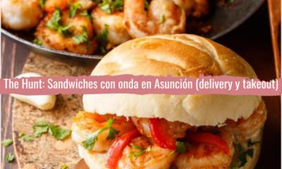 The Hunt: sándwiches con onda en Asunción (delivery y takeout)