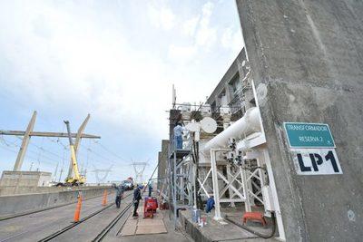 Adecuación de la Línea Paraguaya 1 en Yacyretá entra a su etapa final