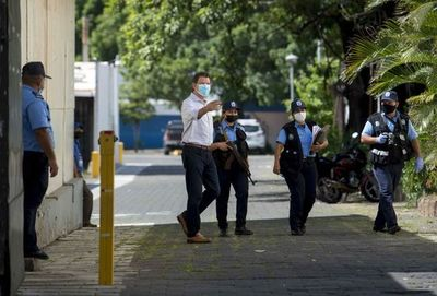 La Policía de Nicaragua arresta al gerente general del diario La Prensa