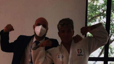 Bareiro es bicampeón en el judo