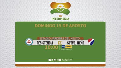 Resistencia y Sportivo Iteño, con objetivos distintos