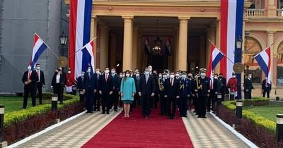 La Nación / Atípica celebración de los tres años de Abdo Benítez en el gobierno