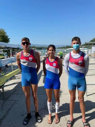 Paraguayos dejan su marca en el mundial de remo juvenil