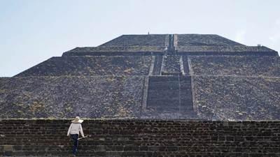 Hallan en México cuatro ramos de flores de al menos 1.800 años de antigüedad debajo de una pirámide