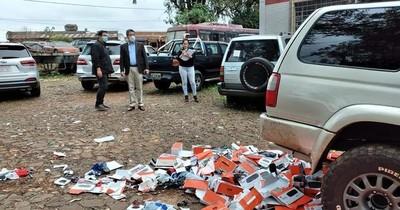 La Nación / Destruyen productos falsificados e instan a denunciar piratería