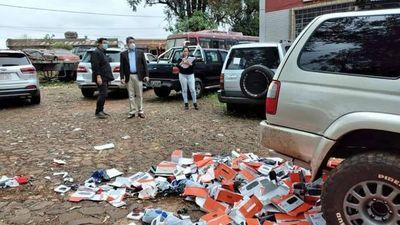Destruyen productos falsificados e instan a denunciar piratería