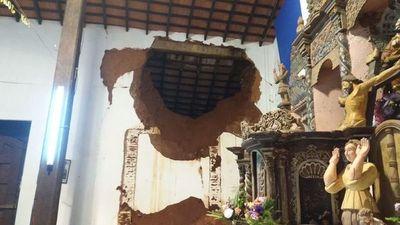 Comenzarán tareas de salvaguardia del Templo de San Joaquín