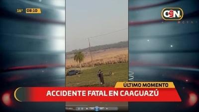 Dos fallecidos tras accidente vial