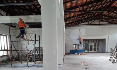 Obra de restauración del edificio histórico del Puerto de Asunción tiene un avance del 80% – Prensa 5