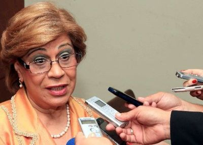 """Gladys Bareiro, la ministra """"high level"""" con cuentas bancarias en EE.UU y Suiza"""