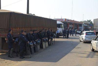 """Despeje de rutas: """"El diálogo y la persuasión ya acabaron"""", anuncia subcomandante de la Policía Nacional"""