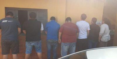 Siete camioneros detenidos durante incidentes con policías en Villarrica