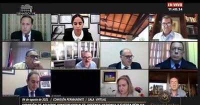 La Nación / Inician audiencia en el Senado para vacancia en Contraloría
