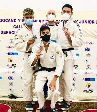 Buena cosecha de preseas en Judo